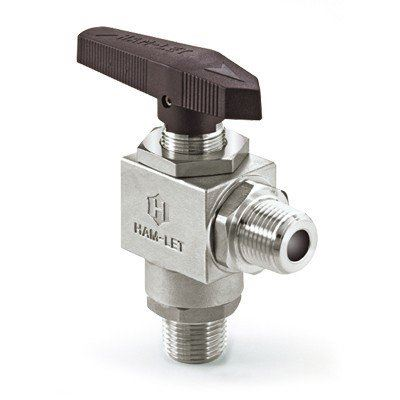 Ham-Let® Male Ported 3-Piece Ball Valve - Industrial ...