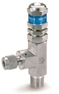 Ham-Let Let-Lok® H-995HP High Pressure Relief Valve with NPT to let-lok connections