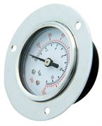 Vale® Centre Back Flanged Mounted Pressure Gauge BSPP