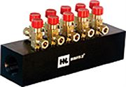 HNL® Series 950 10 Outlet distribution manifold