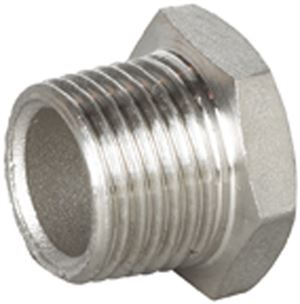 Vale® Stainless Steel Hex Head Blanking Plug