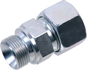 EMB® DIN 2353 Stainless Steel Male Stud Coupling Form A