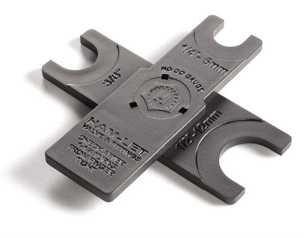 Ham-let inspection gauge for Let-lok fittings