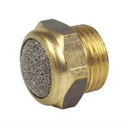 Vale® Wire Mesh/Brass Compact Silencer