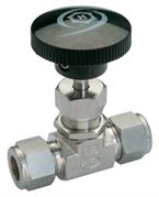 Ham-Let® H-300 integral bonnet needle valve with Let-Lok connection