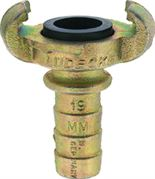 Lüdecke DIN 3489 Hose Claw Coupling with Safety Collar