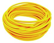 Vale® unreinforced PVC tube 30 metre coil yellow