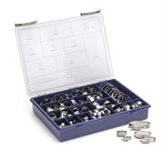 JCS Hi-Grip® Hose Clip Stainless Steel Assorted Box Set
