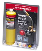 Rothenberger Super Fire 2 Brazing Torch with MAP/PRO Cylinder