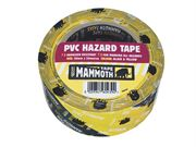 Everbuild PVC Hazard Tape Black/Yellow