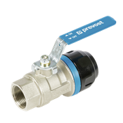 Prevost PPS1 RSIF - Aluminium parallel female threaded valves with fittings for pipe