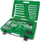 Toptul® 106 Piece Professional Grade Flank Socket Wrench Set
