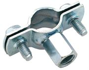 Vale® Unlined Pipe Clamp Steel BZP Metric