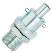 1/2BSPT MALE SWIVEL ADAPTOR INSTANTAIR 1/2 STEEL ZINC PLATED