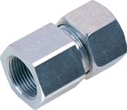 EMB DIN 2353 light series female stud coupling BSPP
