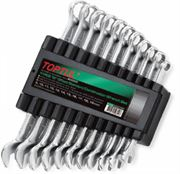 Toptul® 11 Piece 15 Degree Standard Combination Wrench Set