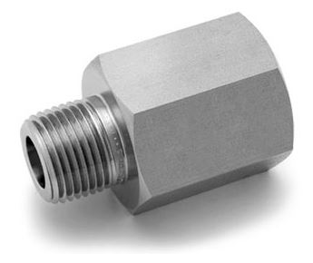 Ham-Let® Pipeline male female NPT to BSPT adaptor