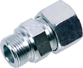 EMB® DIN 2353 Stainless Steel Male Stud Coupling Form B