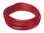 Metric Copper Tube with a Red 1.5mm PVC Sheath