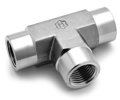 Ham-Let® Pipeline stainless steel female tee NPT