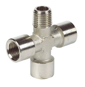 Nickel Plated Brass Adaptors
