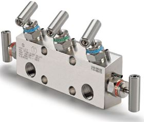 Ham-Let® Astava 5 Way Direct Mount Manifolds