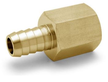 Ham-Let® brass Pipeline NPT female hose connector