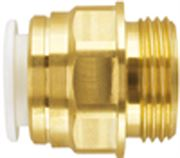 Push-On Speedfit® Brass Male Cylinder Adaptor