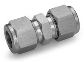 Stainless steel Ham-Let Let-Lok® metric twin ferrule tube fittings from Indanc
