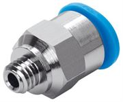 Festo QSM Mini Hex Male Stud Coupling (Metric)