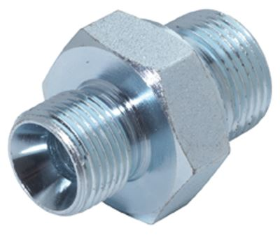 Vale® Male Adaptor BSPP to Metric - Industrial Ancillaries