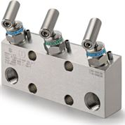 Ham-Let Astava 3 Way Direct Mount Manifold NPT Connection