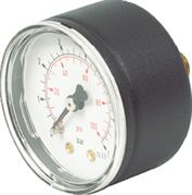 Vale® 50mm Centre Back Panel Mounted Pressure Gauge BSPP