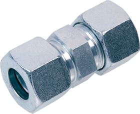 EMB DIN 2353 stainless steel straight coupling