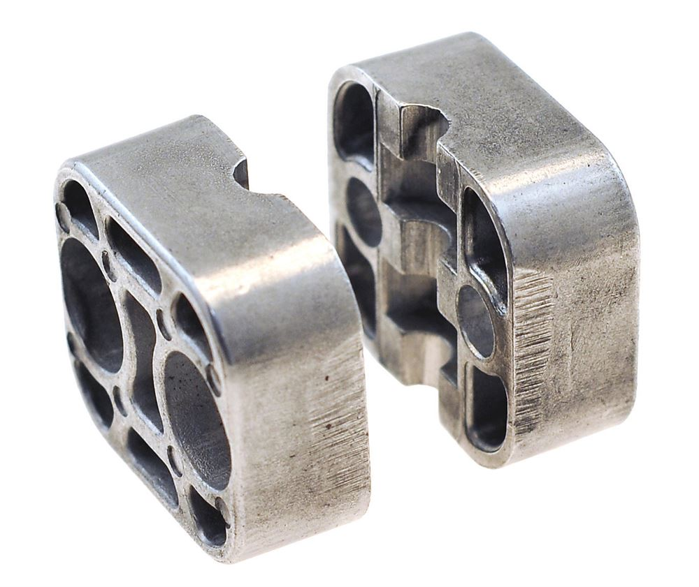 Rsb heavy duty tube clamp jaws aluminium industrial